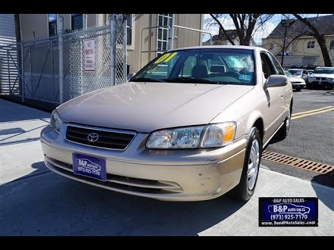 2001 Toyota Camry LE Paterson NJ Used Cars For Sale
