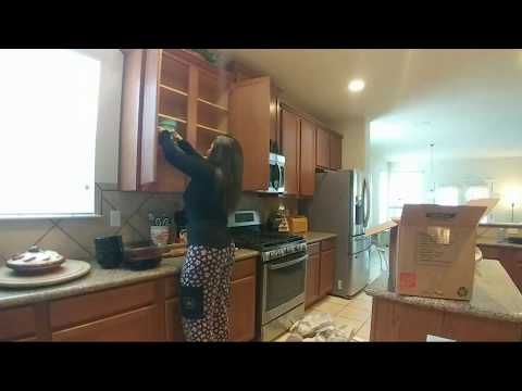 Unpacking My Dishes...Ooops I Thought I Was LIVE On
