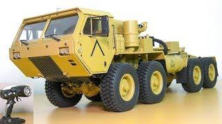 FANTASTIC RC TRUCK M983 HEMTT OSHKOSH 8x8 UNBOXING!! RC CRAWLE…
