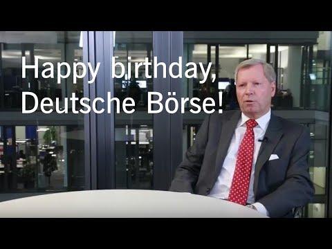 25 years Deutsche Börse AG – Jörg Franke