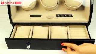 Шкатулка-тайммувер для часов RS-323-3-B (Rothenschild)(Шкатулка-тайммувер для часов RS-323-3-B (Rothenschild). Очень надёжная и высококачественная модель для хранения и..., 2014-01-15T09:11:10.000Z)