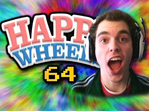"""""""BEST BALL THROW EVER!!!"""" Happy Wheels w/ ChimneySwift11 #64 (HD)"""