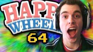 BEST BALL THROW EVER!!! Happy Wheels w/ ChimneySwift11 #64 (HD)