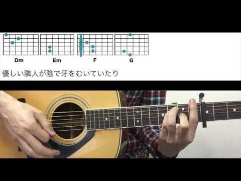 ●コード譜●ノンフィクション-平井堅 ギターコード-ドラマ「小さな巨人」主題歌