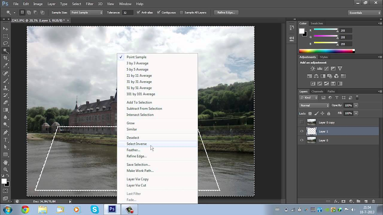 Adobe Photoshop CS6 Tutorial - Out Of Frame Effect (3D ...