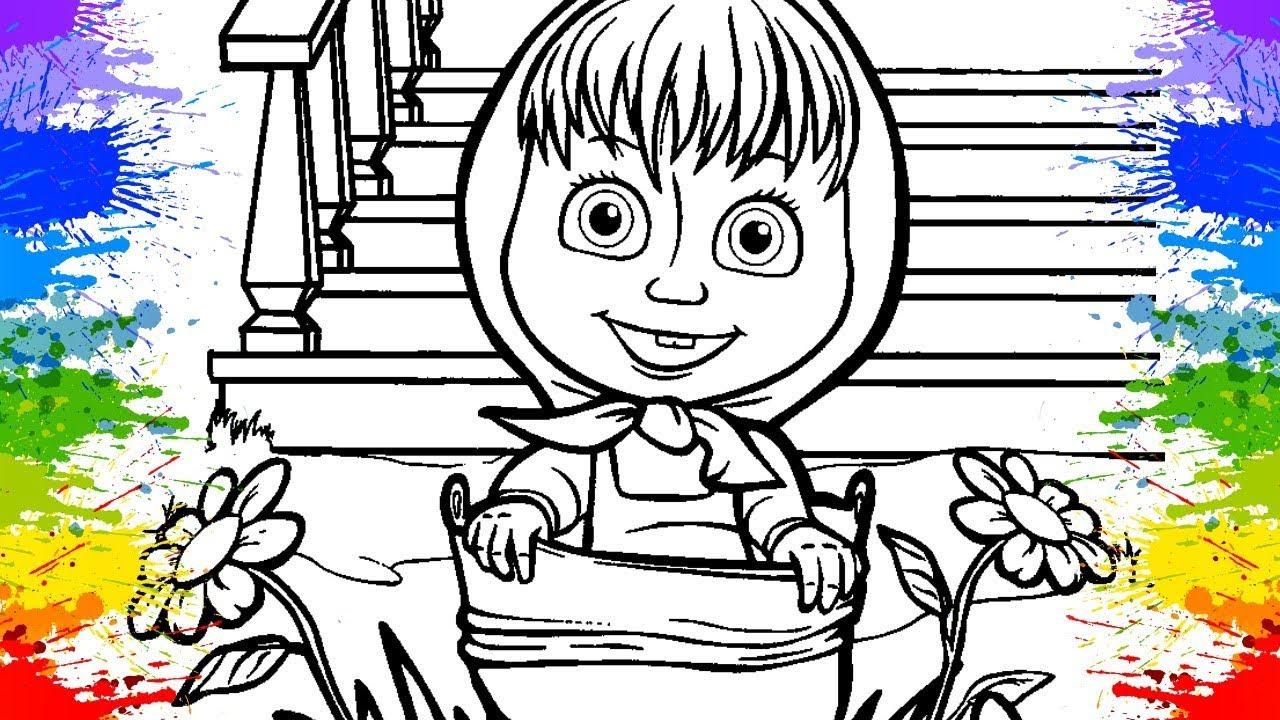 Desenho Da Masha Eo Urso Em Portugues Séries Educativas