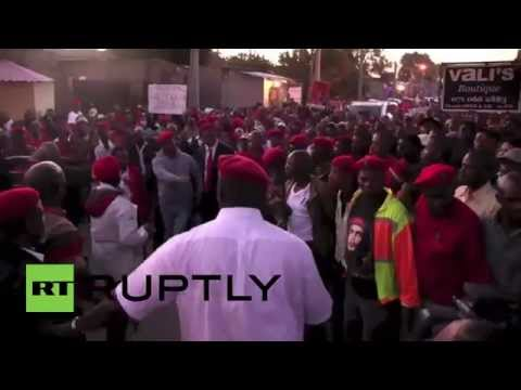 South Africa: Blame the elected government, not foreigners says Julius Malema