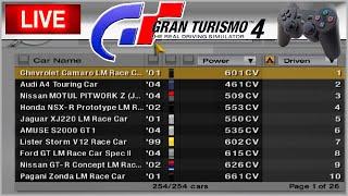 TESTANDO VÁRIOS CARROS COM OS AMIGOS #2 - Gran Turismo 4 AO VIVO volante