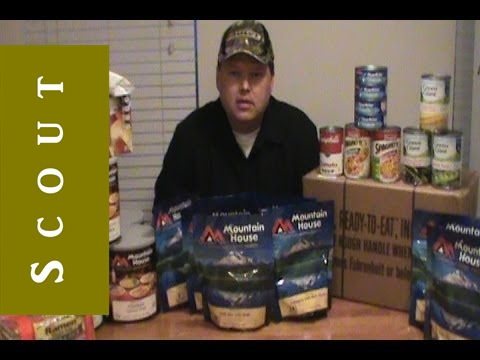 Emergency Food - Best Kind to Buy - Scout Prepper