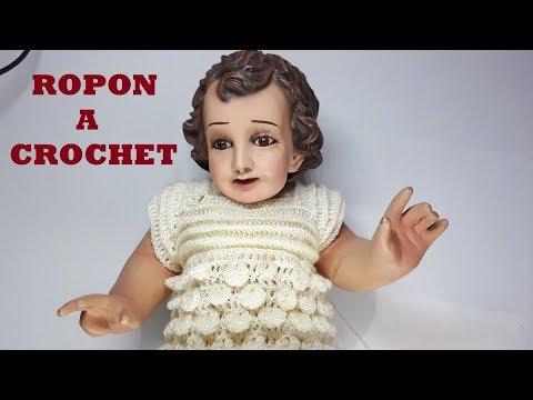 Conjunto A Crochet Para Niño Dios Tutorial Tejido Ganchillo Parte 1