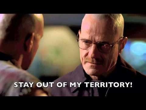 Breaking Bad - Stay out of my territory(Bölgemden uzak dur) Sahnesi