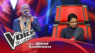 Madan Balakrishnan -Kannaana Kanney |  Blind Auditions | The Voice Sri Lanka Thumbnail