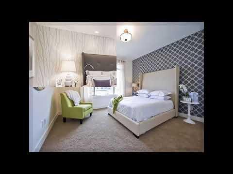 moderne tapeten fürs schlafzimmer