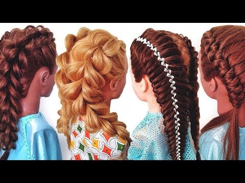 Три необычные и простые прически для девочки