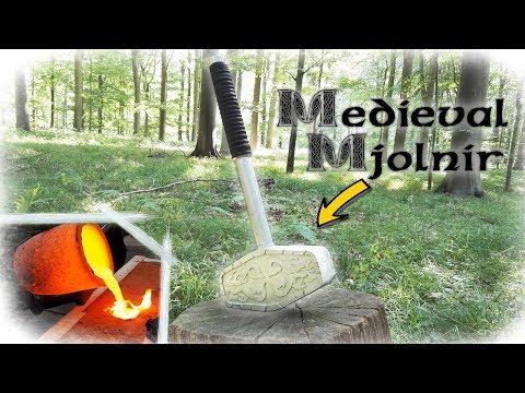 Making Medieval THOR´S Mjolnir Hammer