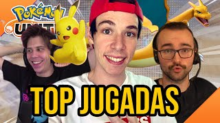 TOP JUGADAS POKÉMON UNITE! SALGO YO! MEJORES JUGADAS | Folagor03