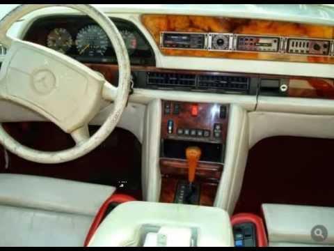 1980s Miami Vice Tuning Mercedes S Class