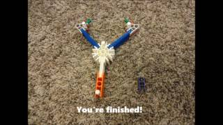 K nex slingshot instructions