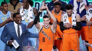 NBA All-Star Rising Stars Challenge 2018 World vs USA! Bogdan Bogdanovic MVP