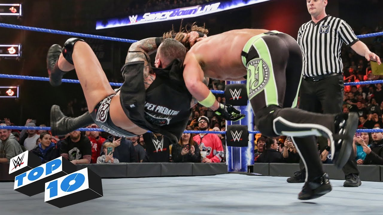 Top 10 SmackDown Live moments: WWE Top 10, February 12, 2019
