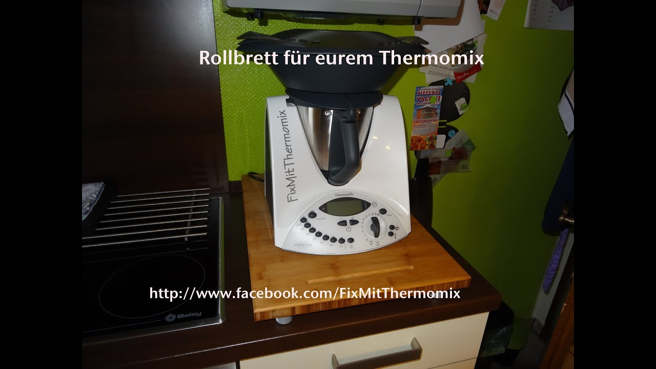 tipp f r den vorwerk thermomix tm 31 holzbrett rollbrett. Black Bedroom Furniture Sets. Home Design Ideas