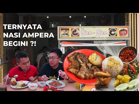 Sempat Berjualan Selama 10 Tahun di Tanjung Balai Asahan, Begini Nasi Ampera RM Yen Yen Sekarang