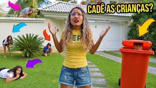 Gambar cover PIQUE ESCONDE NA MANSÃO COM AS CRIANÇAS! (QUEM É MELHOR?) - KIDS FUN