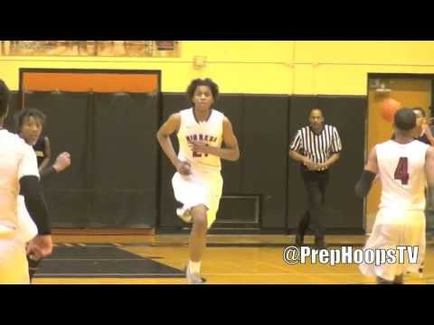MSU Spartan commit Deyonta Davis 2015 Muskegon highlights vs Arthur Hill