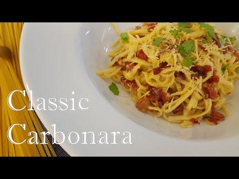 Best Classic Carbonara Recipe - So Delicious & Simple To Cook