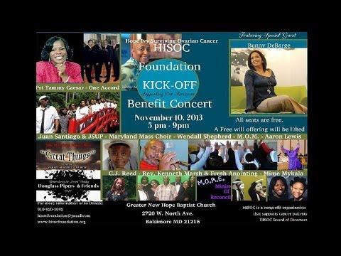 Bunny DeBarge 2013 -H.I.S.O.C. Foundation