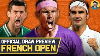 French Open 2021   Mens Draw Preview   Tennis News