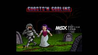 Ghosts'n Goblins MSX turbo R V9990