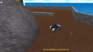 (Roblox) Hot wheels gear game review with irishi02!