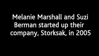 Melanie Marshall and Suzi Berman started up their company, Storksak, in 2005