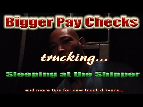 How to Get Bigger Paychecks as a New Company Driver