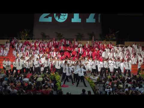 Kahuku 2017 Graduation Haka in 4K
