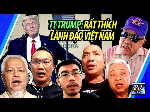 Tổng thống Mỹ nói rất thích các lãnh đạo Việt Nam, người Việt trong ngoài nước nghĩ sao?