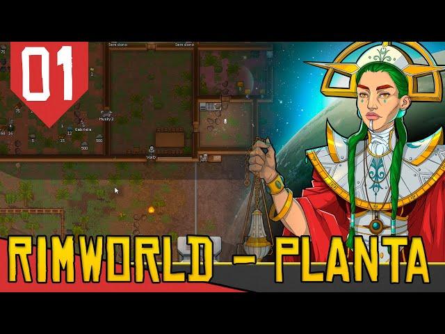 VIDA NA SELVA das DORGAS - Rimworld Ideology das Arovres #01 [Série Gameplay PT-BR]