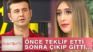 Zuhal Topal'la 205. Bölüm (HD) | Huriye'ye Evlilik Teklif Eden Tarık Stüdyoyu Neden Terk Etti?