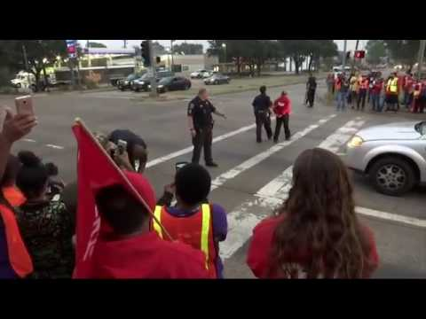 Dozens Arrested in US Minimum Wage Protests