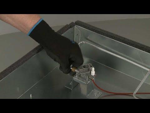 Left Rear Gas Tubing – Kitchenaid Gas Downdraft Cooktop Repair (Model #KCGD506GSS00)