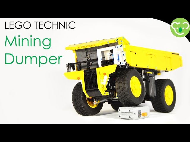[Quick MOC] Mining Dumper - LEGO Technic powered by Buwizz