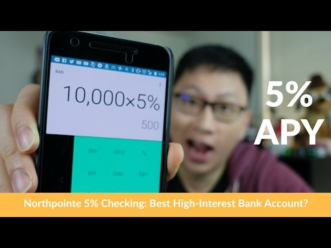 Northpointe 5% Checking: Best High Interest Bank Account? [No Longer Available]