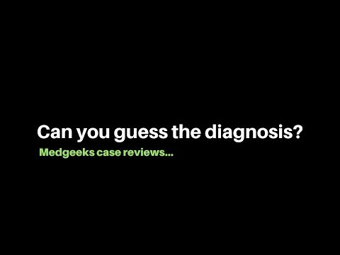 My Most Interesting Cases Of The Week. Can You Guess The Diagnosis?