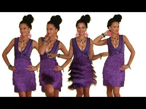 Diy fringe dress diy party dress youtube solutioingenieria Gallery
