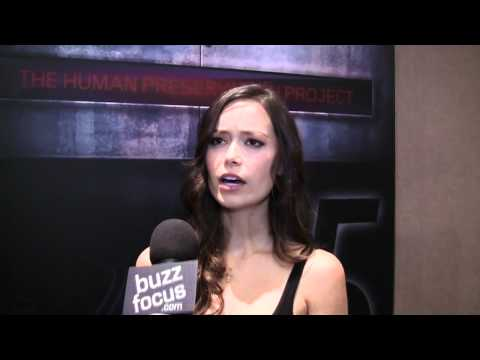 NYCC - Buzzfocus Interview With Summer Glau - HD