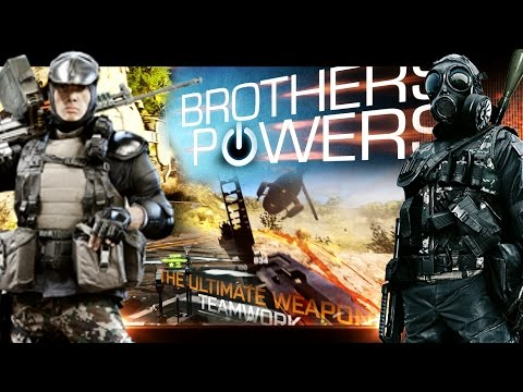 ALL BROTHERS' POWERS! - Battlefield 4 Teamwork feat. Xerator [20 minutes]