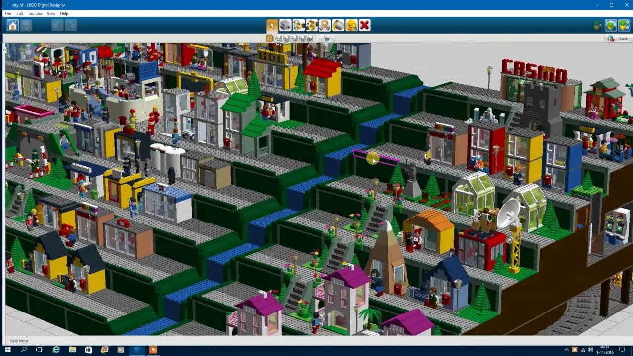 lego digital designer small city extension youtube. Black Bedroom Furniture Sets. Home Design Ideas