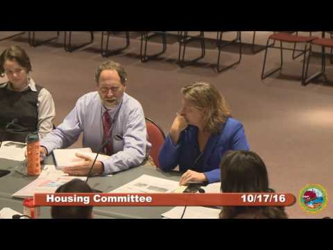 Housing Committee 10.17.16