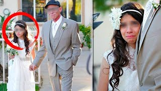 The girl cried as she married the old man, but his secret was revealed during their wedding night…